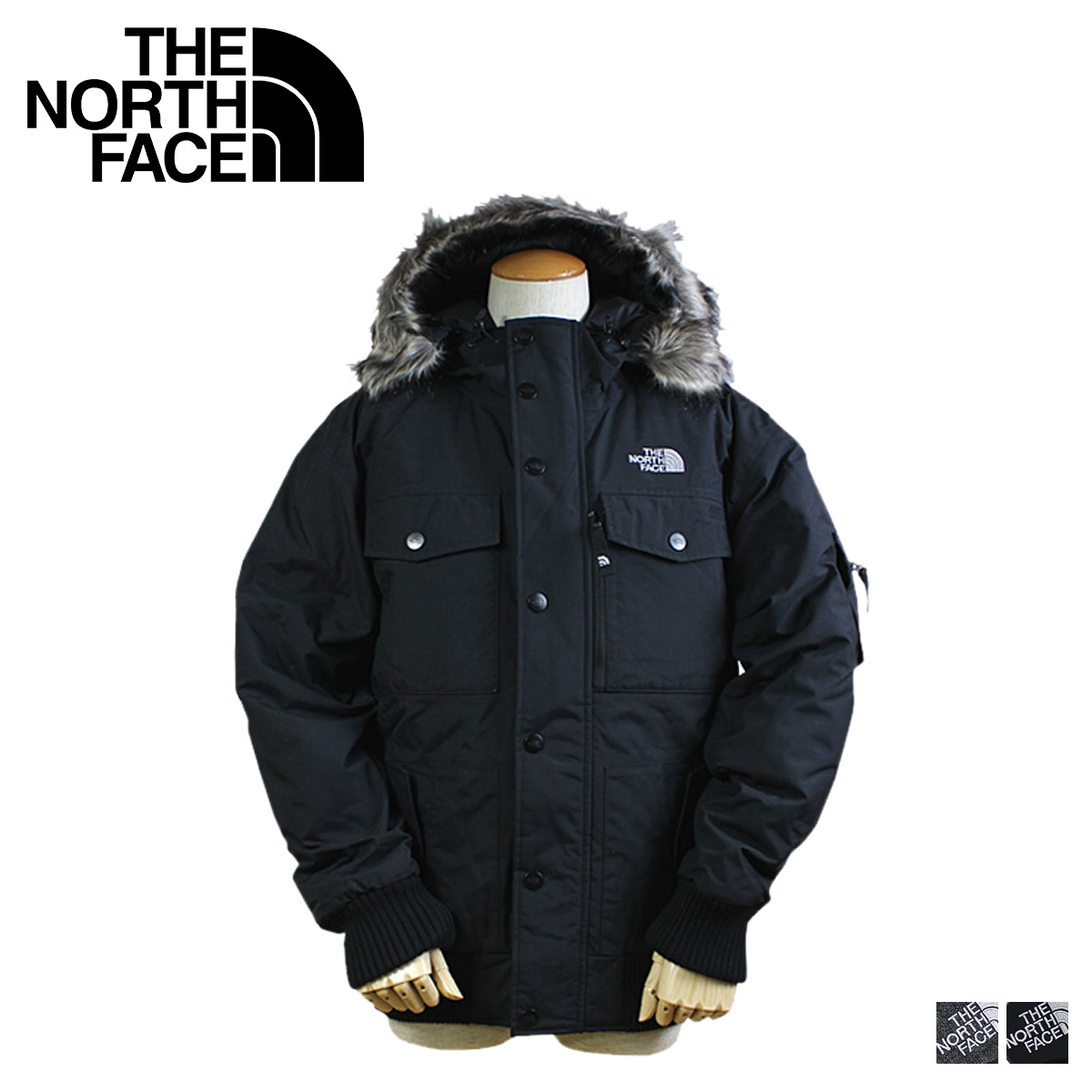 3ce8548928 ... inexpensive sold out the north face zip up jacket black gray a8xc gotham  jacket 46c81 03651