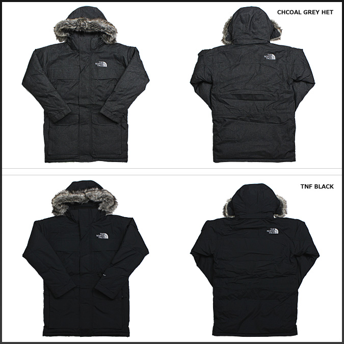 ce091b44e [SOLD OUT] the MCMURDO PARKA mens, North face THE NORTH FACE mountain parka  in black gray A8XZ [regular]