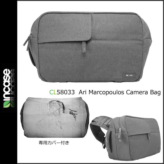 INCASE ARI MARCOPOULOS CAMERA BAG インケース カメラバッグ グレー CL58033 メンズ レディース [予約商品 8/8頃入荷予定 追加入荷] [188] 【決算セール 返品不可】