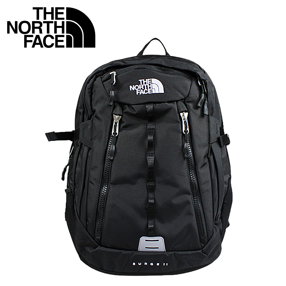 be15b502a The North face THE NORTH FACE Lady's backpack rucksack [black] WOMEN'S  SURGE ll BACKPACK A92R [regular] fs04gm 05P06May14