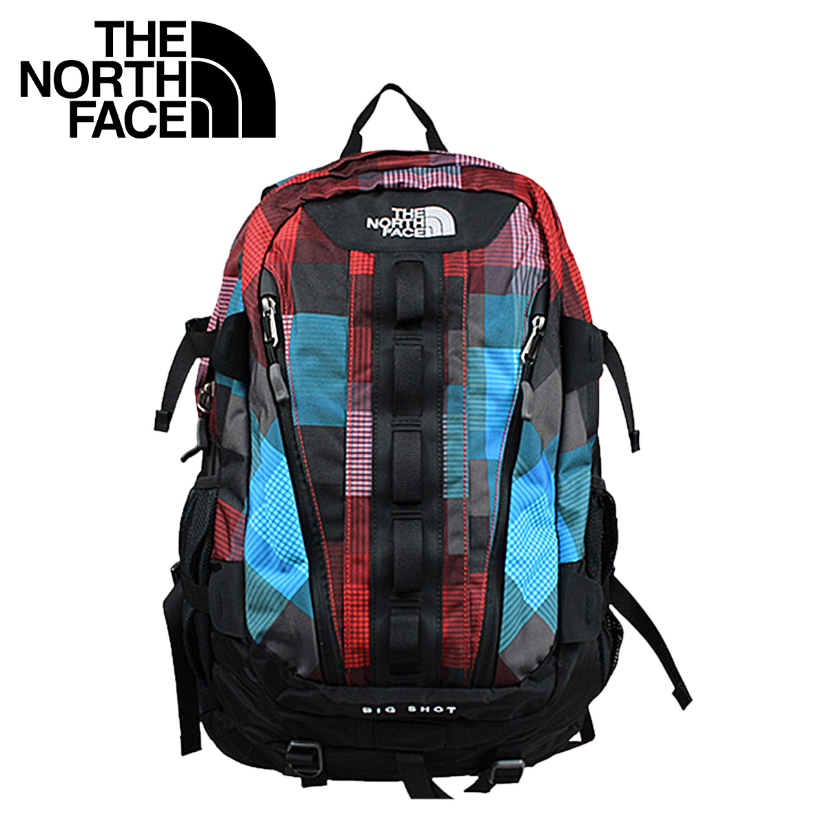 [卖出] 北面对北脸背包背囊 [童话红,大人物背包男装 AJUZ