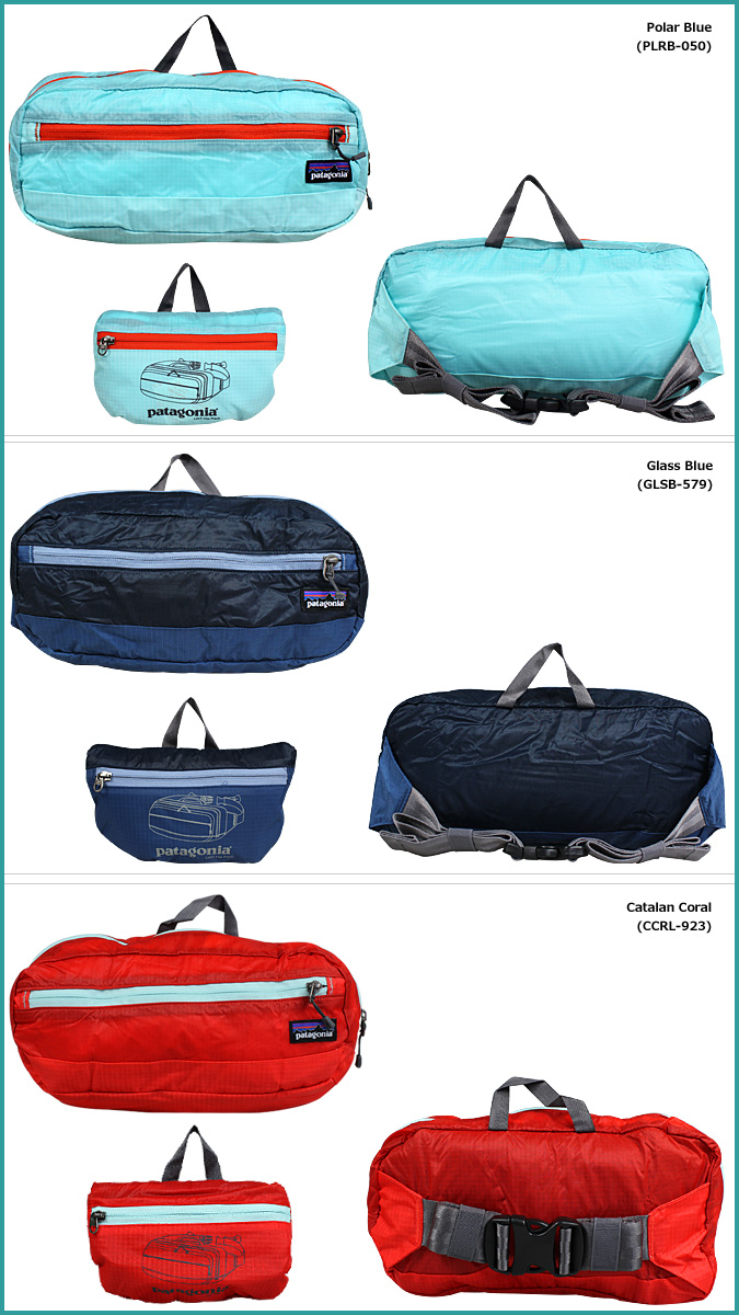 48450 Patagonia patagonia bum-bag pochette [3 colors] LIGHTWEIGHT TRAVEL HIP PACK 5L men's lady's waist porch unisex [2/25 Shinnyu load] [regular]★★