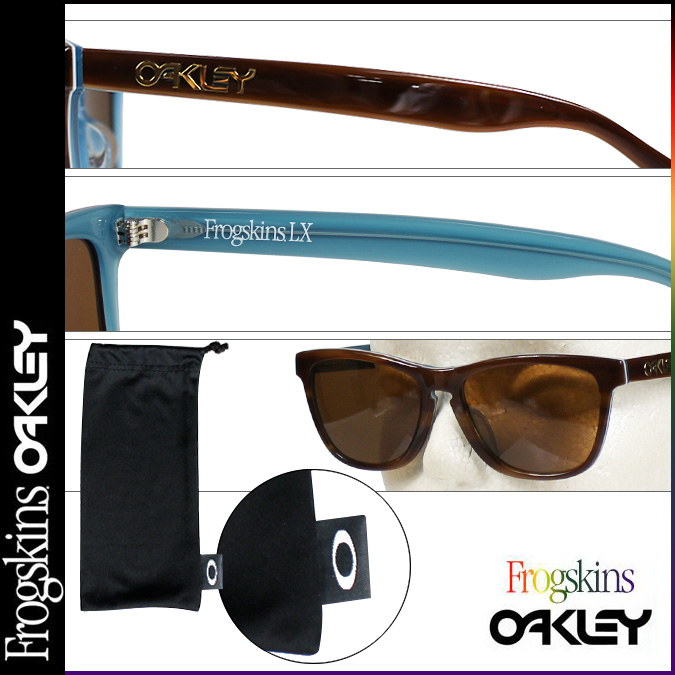b053f1d767 Oakley   ☆ FROGSKINS LX (ASIAN FIT) ☆ Sunglasses   STYLE  OO2039-03.  Visible light transmission  12% Ultraviolet Ray transmittance rate  0%