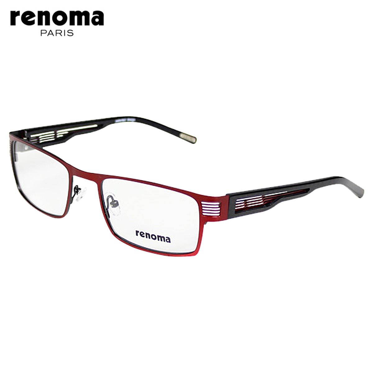 bfbd52438d Point 10 x renoma renoma glasses  red x Black   regular  metal frame mens  Womens unisex glasses business