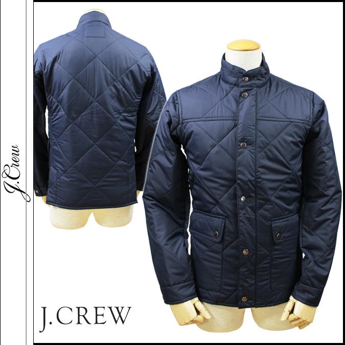10 点 x j.crew J.Crew 绗缝夹克男装外套夹克新海军工厂沃克夹克