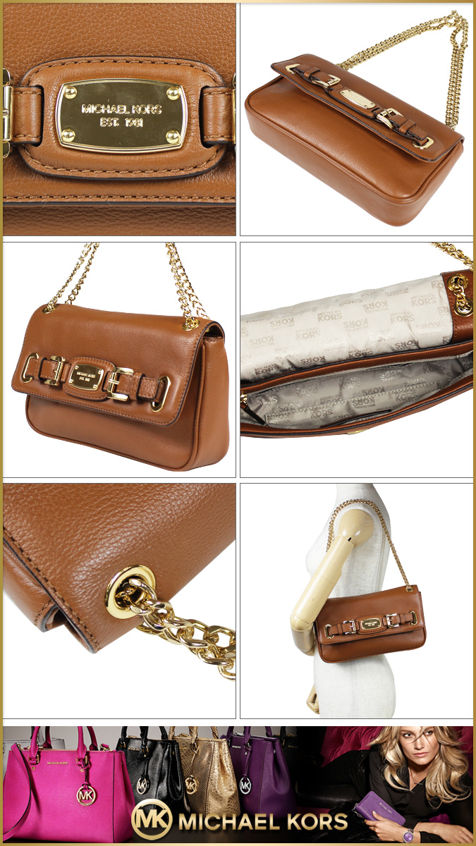 MICHAEL KORS Michael Kors bag clutch bag shoulder bag 35H0GHML1L brown Lady's