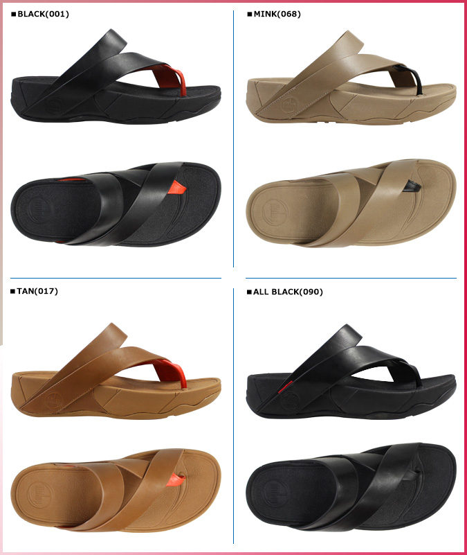 [SOLD OUT]合身FLOP FitFlop吊鈎涼鞋4彩色SLING LEATHER皮革SANDALS 186女士