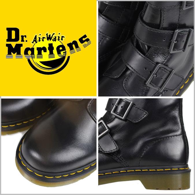 [卖出] 博士马滕斯 Dr.Martens 3 表带引导 [黑色] R13665001 布莱克皮革男人的 [定期]