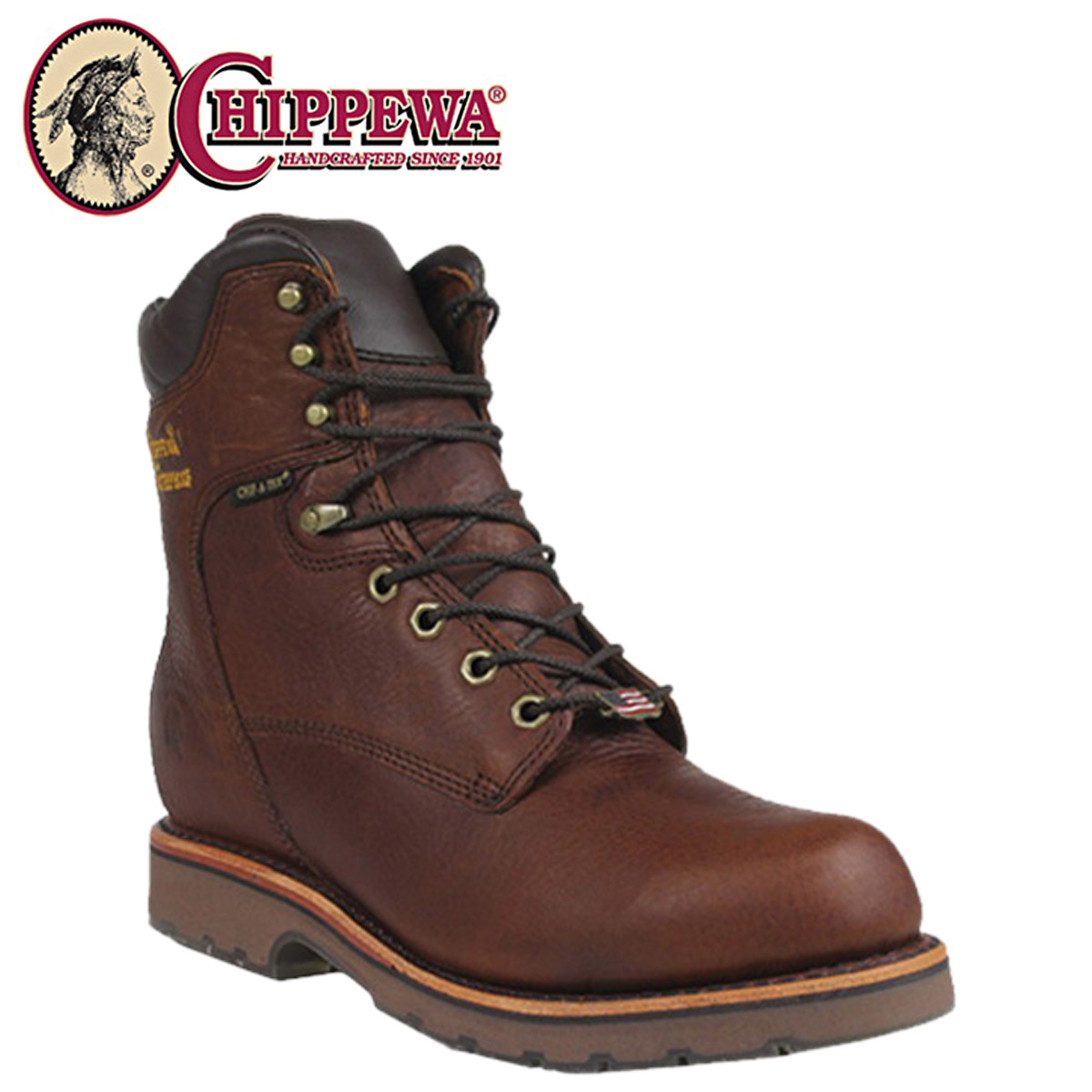 ALLSPORTS | Rakuten Global Market: Chippewa CHIPPEWA 8 inch work boots [Tan  TAN WATERPROOF, 25225 8 TAN D y EE wise leather men's waterproof