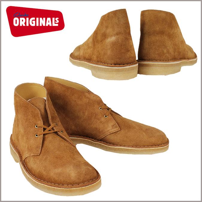 Clarks originals Clarks ORIGINALS desert boots 33567 Desert Boot suede mens camel