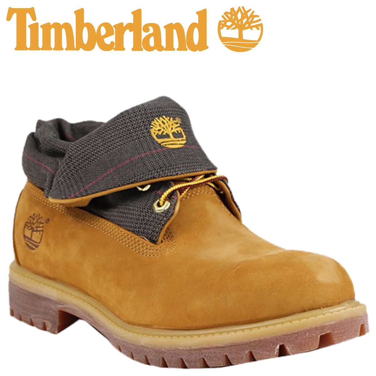 [SOLD OUT]timbarando Timberland角色頂罩惠特6138R Roll Top Nubuck Wheat人
