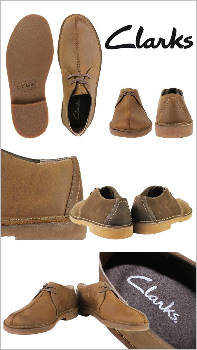 Clarks Clarks Bush-acre desert Trek 63265 BUSHACRE TREK leather men's
