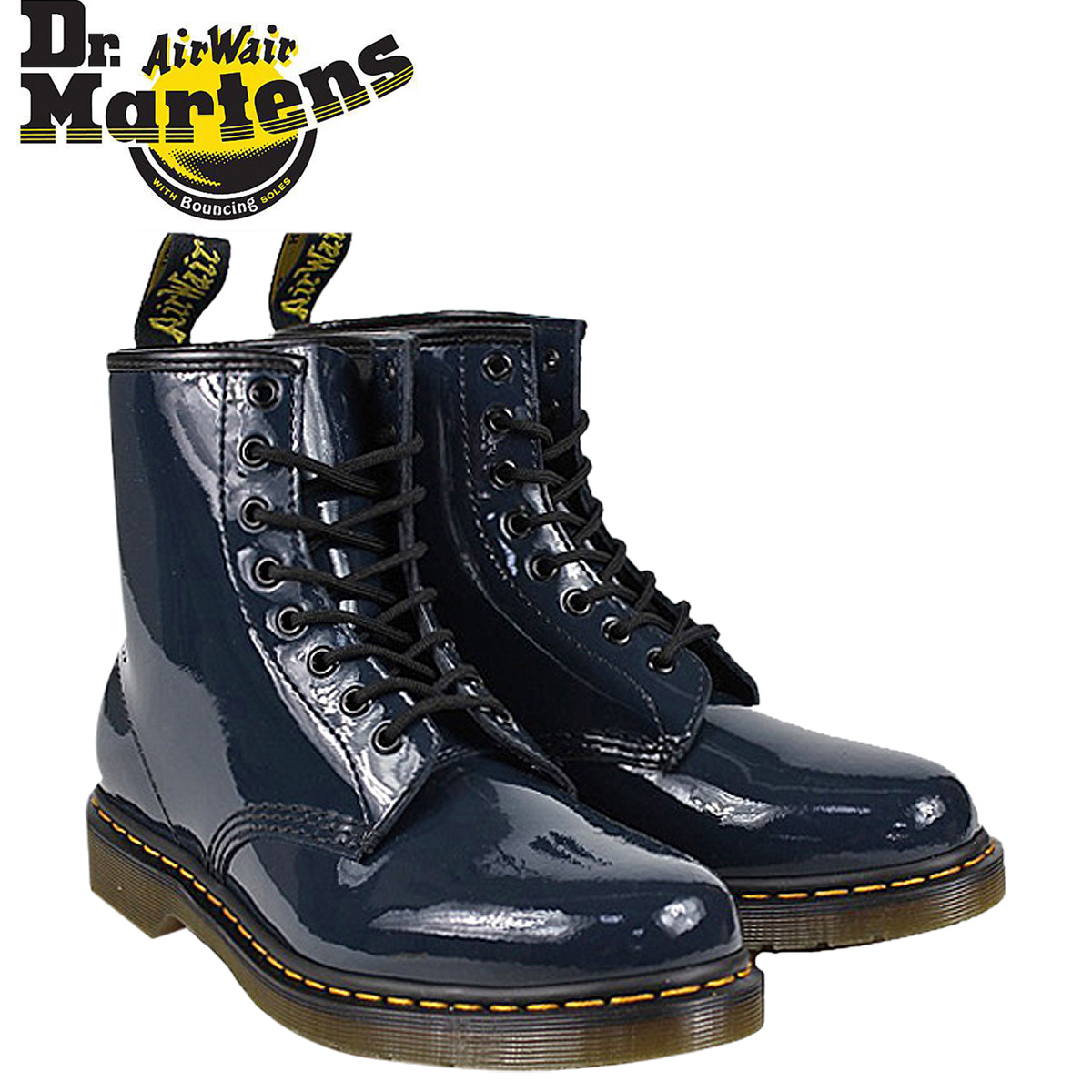 Dr. Martens Dr.Martens 1460 8 hole boots [Navy] R11822412 MODERN CLASSICS patent leather mens Womens 8 EYE BOOTS unisex [regular]