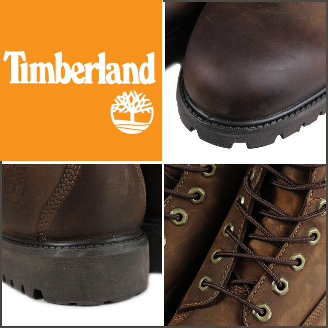 Timberland Herencia Marrón Botas Premium 6 Pulgadas ieM51hI