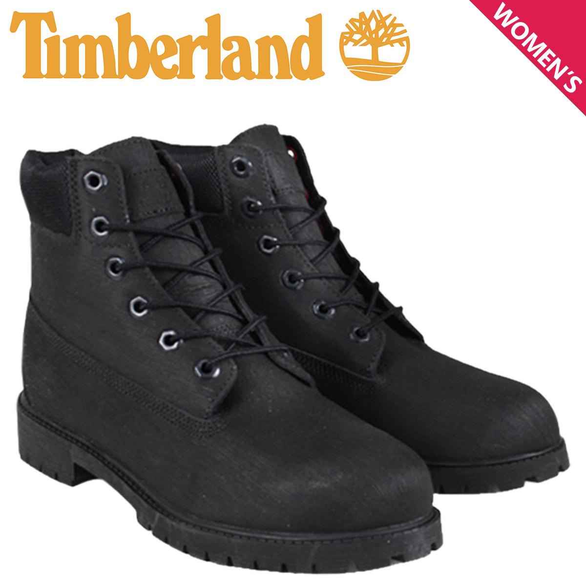 timberland junior black