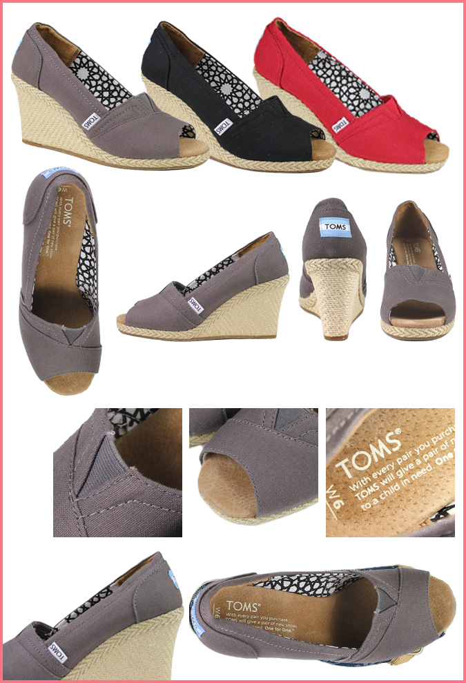 03c648d2665 Thoms shoes TOMS SHOES Lady s sandals CALYPSO CANVAS WOMEN S WEDGES Tom s  Thoms shoes