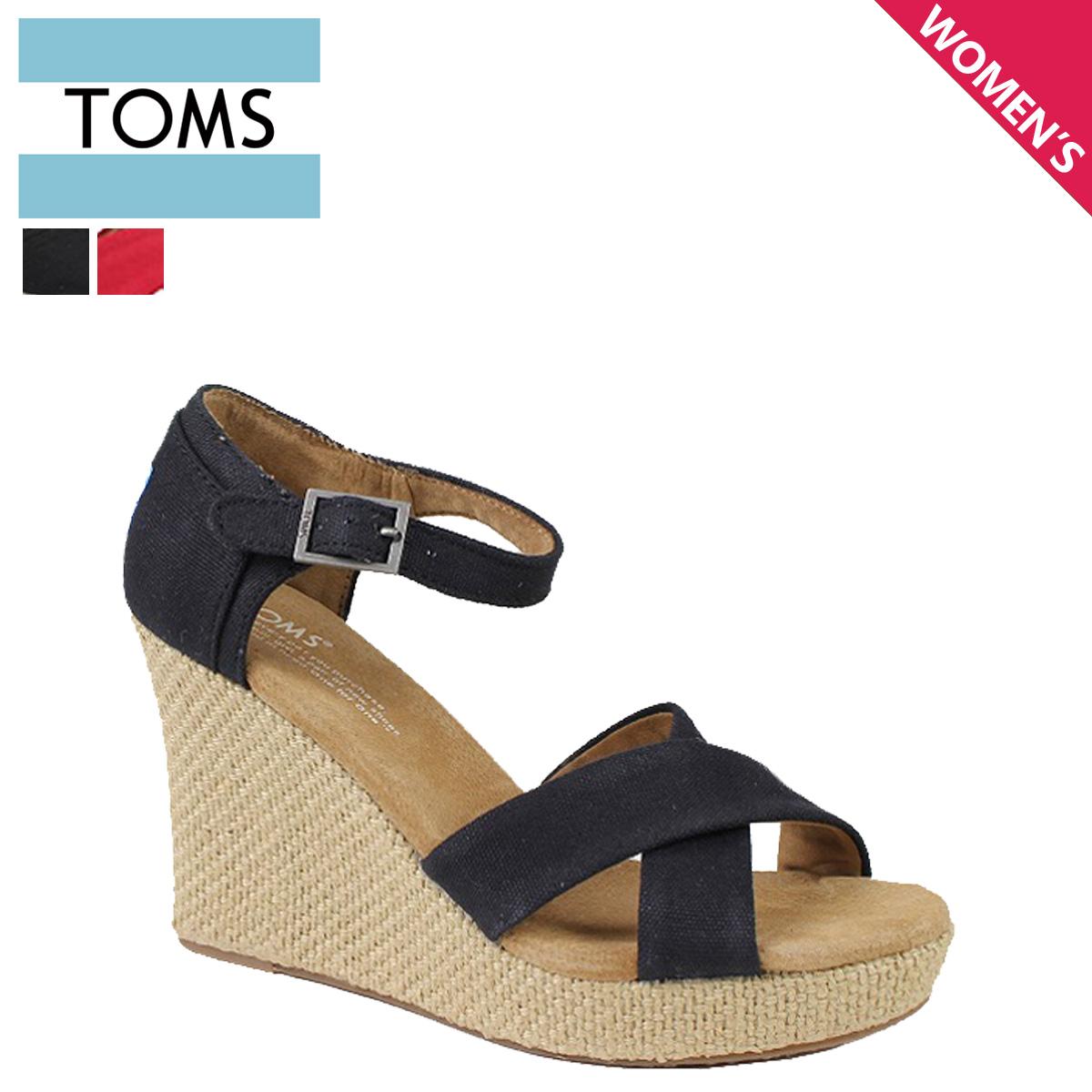 764f09ce2cc8 Thoms shoes TOMS SHOES Lady s sandals CANVAS WOMEN S STRAPPY WEDGES Tom s Thoms  shoes
