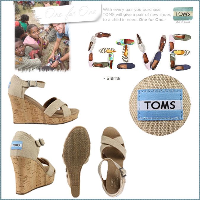 汤姆斯鞋 Toms 鞋妇女楔形凉鞋妇女绊带楔带棉花汤姆斯 Toms 鞋新 024131B 锡耶纳楔唯一