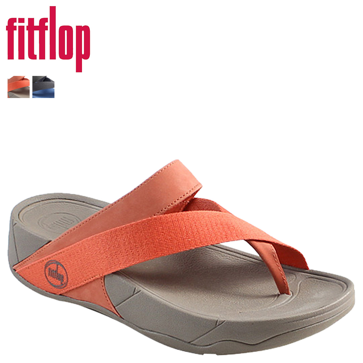 classic fit 5b8a8 f3168 Fit flops FitFlop Sandals 185-211 185-225 SPORT SLING cotton women's Sling