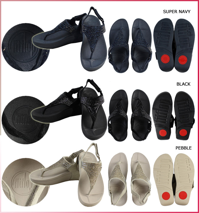 FitFlop fit flop flare Sandals 299-001 299-094 299-097 FLARE SANDAL women's Microfiber