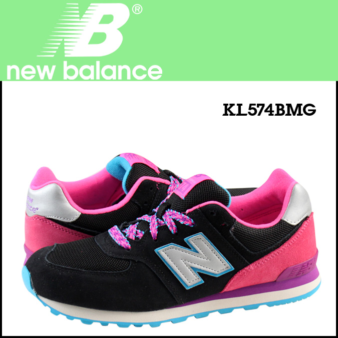 New balance new balance KL574BMG kids women's sneakers M wise mesh / synthetic leather