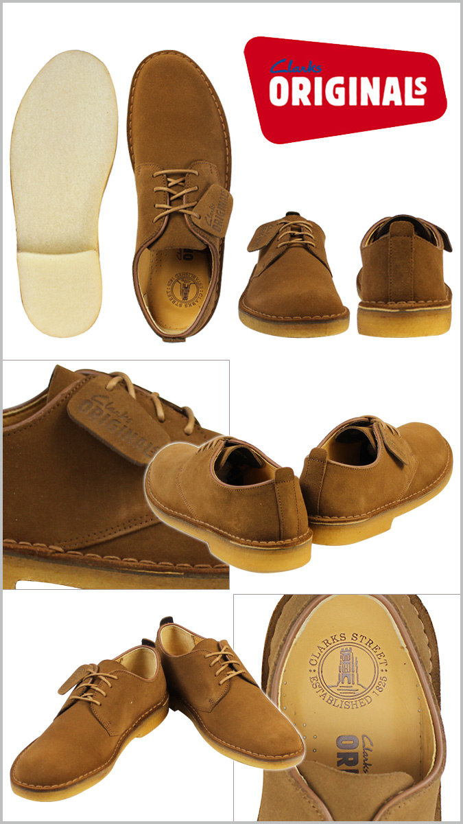 Clarks originals Clarks ORIGINALS desert London lace-up shoes [tobacco] 66009 DESERT LONDON suede men's suede [regular]