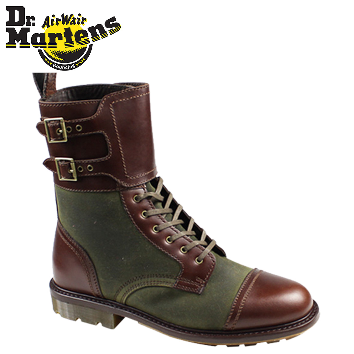 cb2e360ec358 Dr.Martens and☆ FERDINAND SLATE PREMIUM COLLECTION. buckle lace up ...