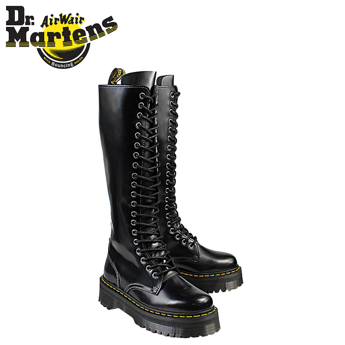 Dr.Martens and ☆ BRITAIN/QUAD RETRO COLLECTION. 20 holes boots ...