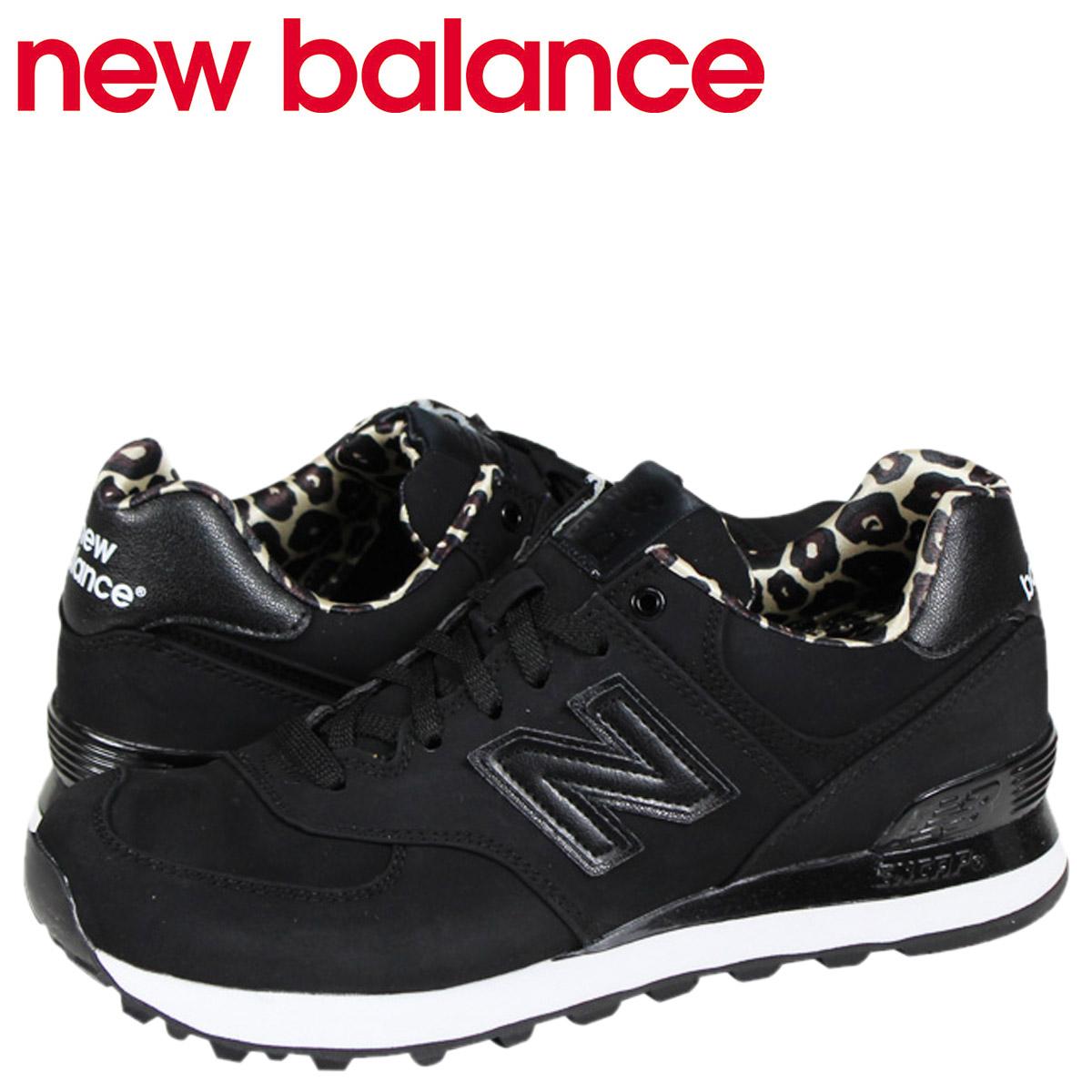 best service 79822 d7a09 new balance New Balance WL574SPK Lady's sneakers B Wise nubuck HIGH ROLLER  PACK black