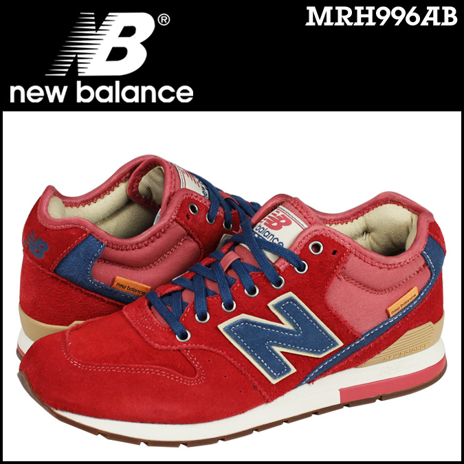 New balance new balance MRH996AB sneakers D wise suede men's suede Red [1 / 24 new in stock] [regular] ★ ★