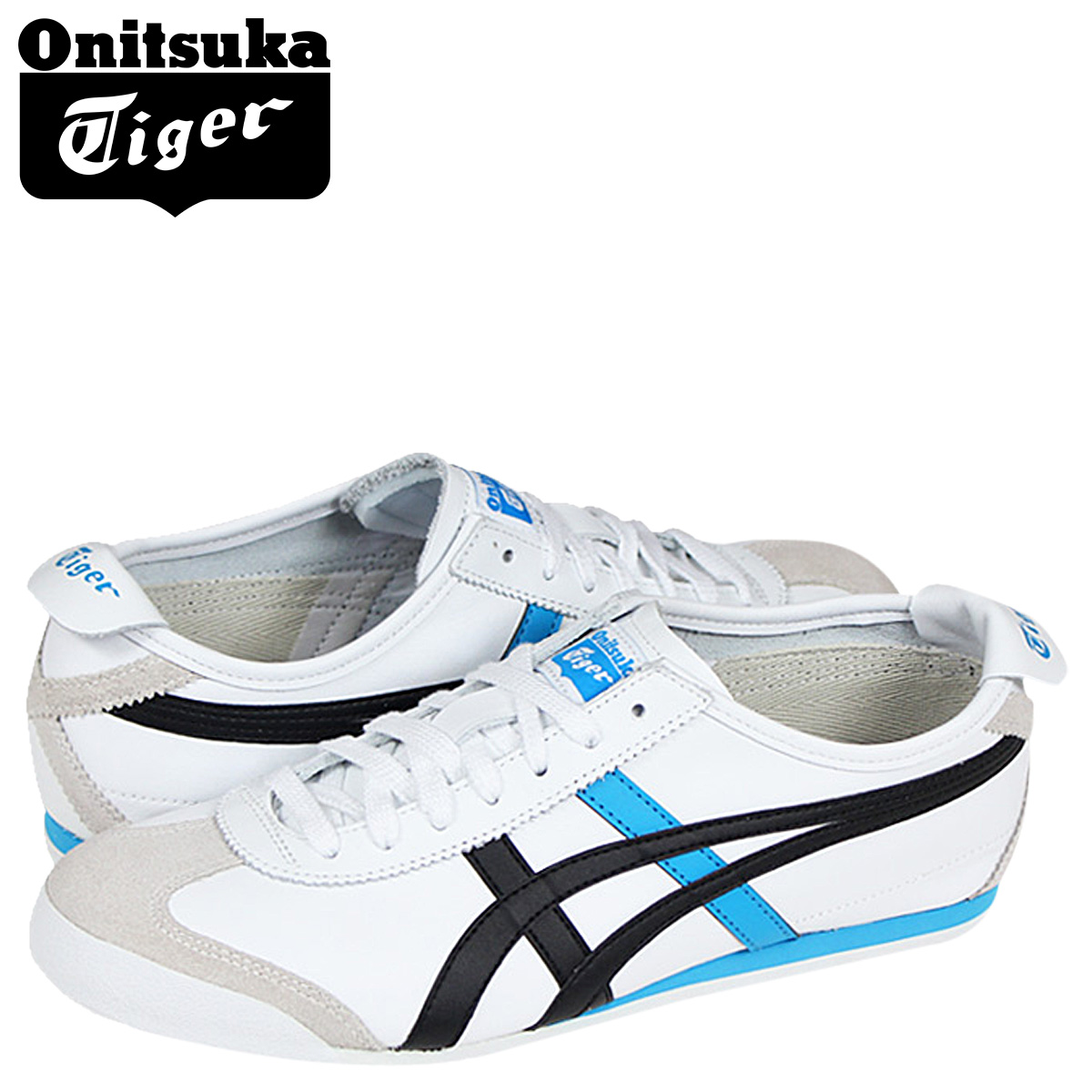 look for 22cad 2b817 66 66 Onitsuka tiger Asics Onitsuka Tiger asics MEXICO THL7C2-0152 sneakers  Mexico suede X leather men suede cloth white [1/31 Shinnyu load] ...