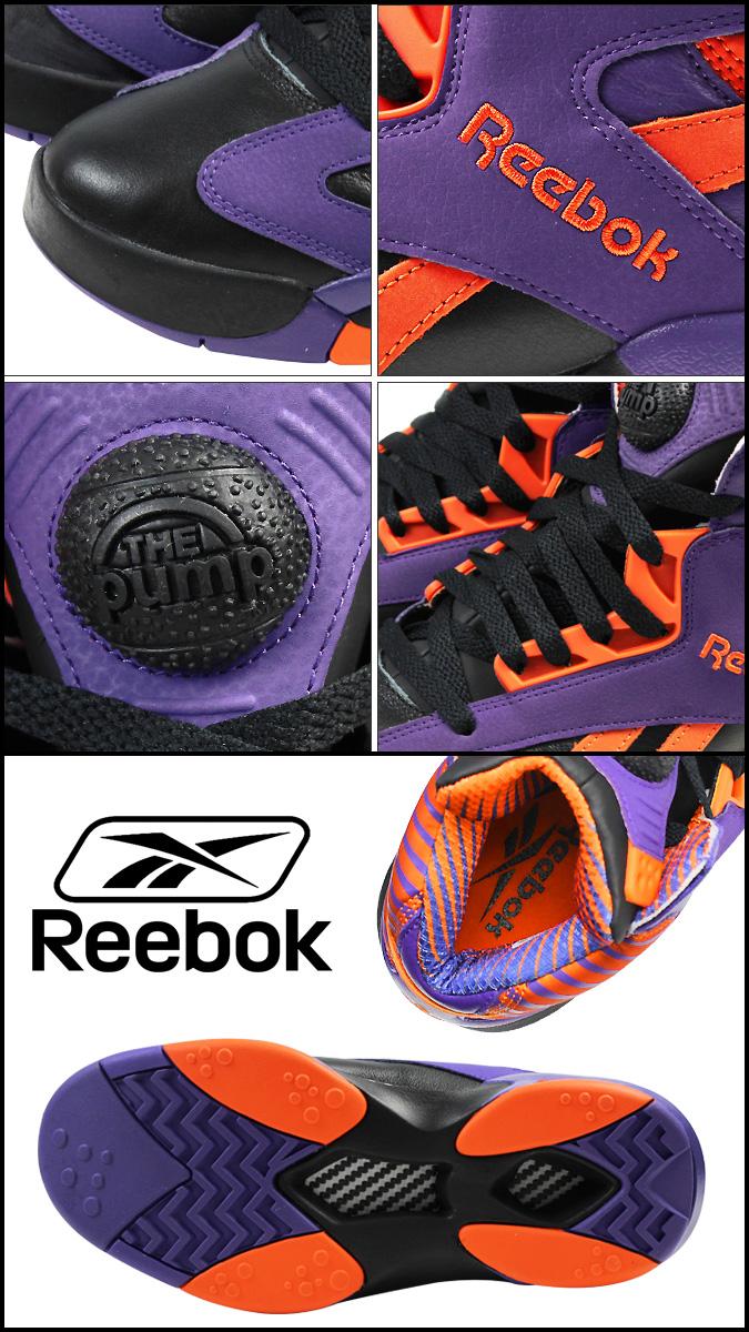 87d63ddab0f5  SOLD OUT  Reebok Reebok SHAQ ATTAQ PHOENIX SUNS V61029 sneaker Shaq attack  Phoenix Suns leather men s O Neill Purple  genuine