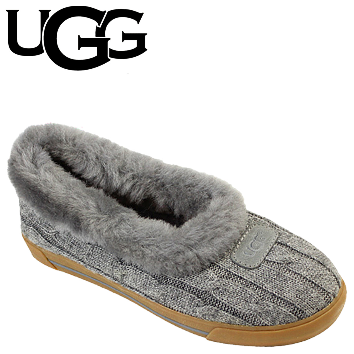classic styles how to buy run shoes アグ UGG lei orchid mouton slippers WOMENS RYAN KNIT SLIPPER 3314 knit Lady's
