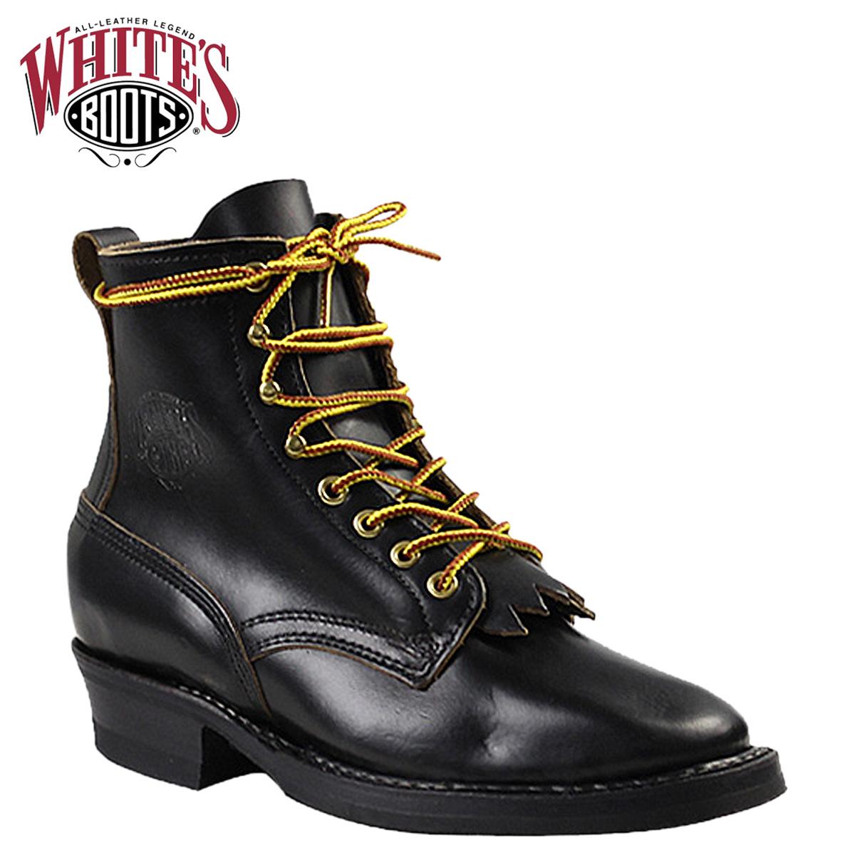 白人靴白色的靴 6 寸赏金猎人 350 WB 6 英寸的赏金猎人 E 明智黑色镀铬 EXCEL 男士 ★ ★