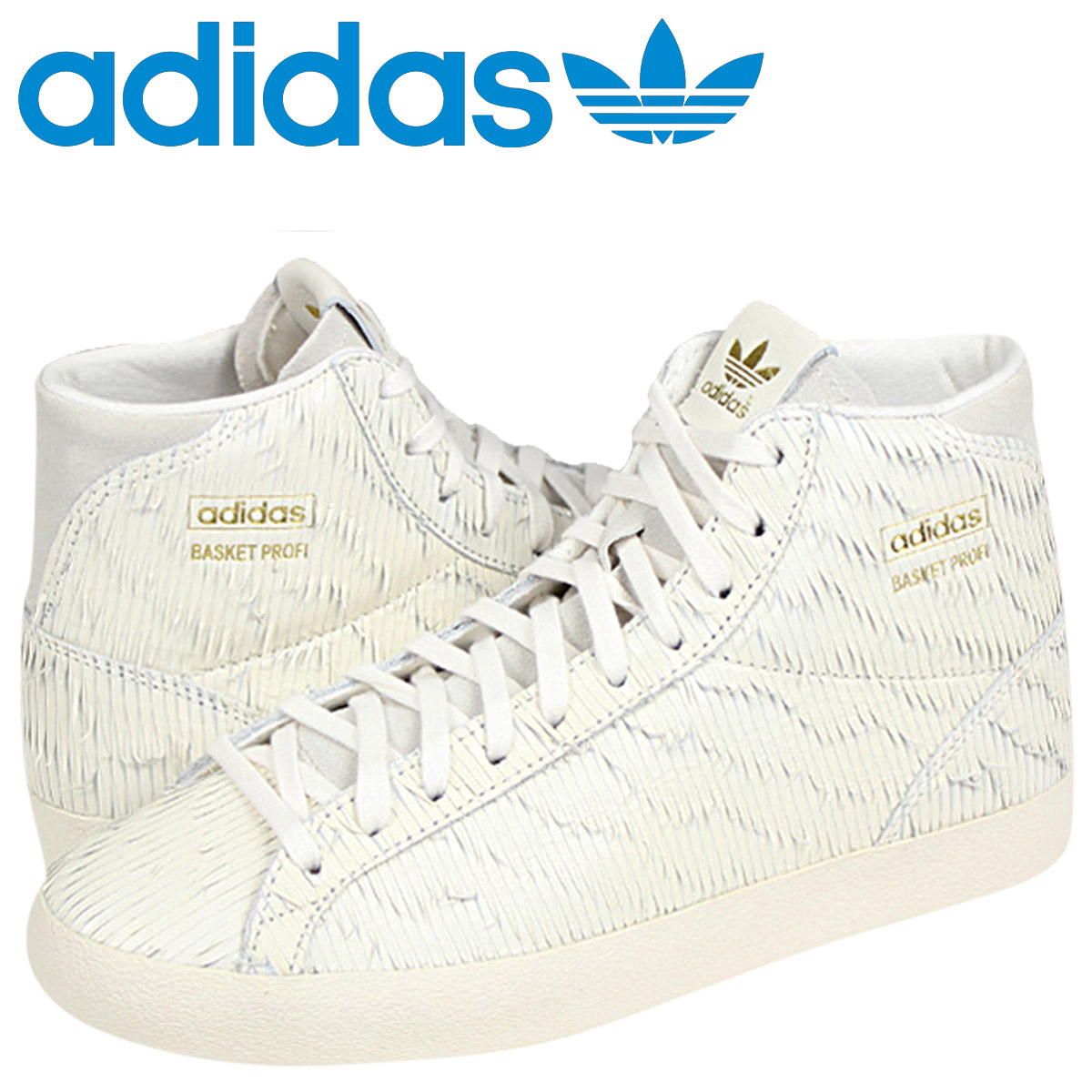 8c16fd2d Adidas originals adidas Originals Women's BASKET PROFI EAGLE W sneakers  バスケットプロフィ Eagle leather men white D65896 [5 / 2 new in ...