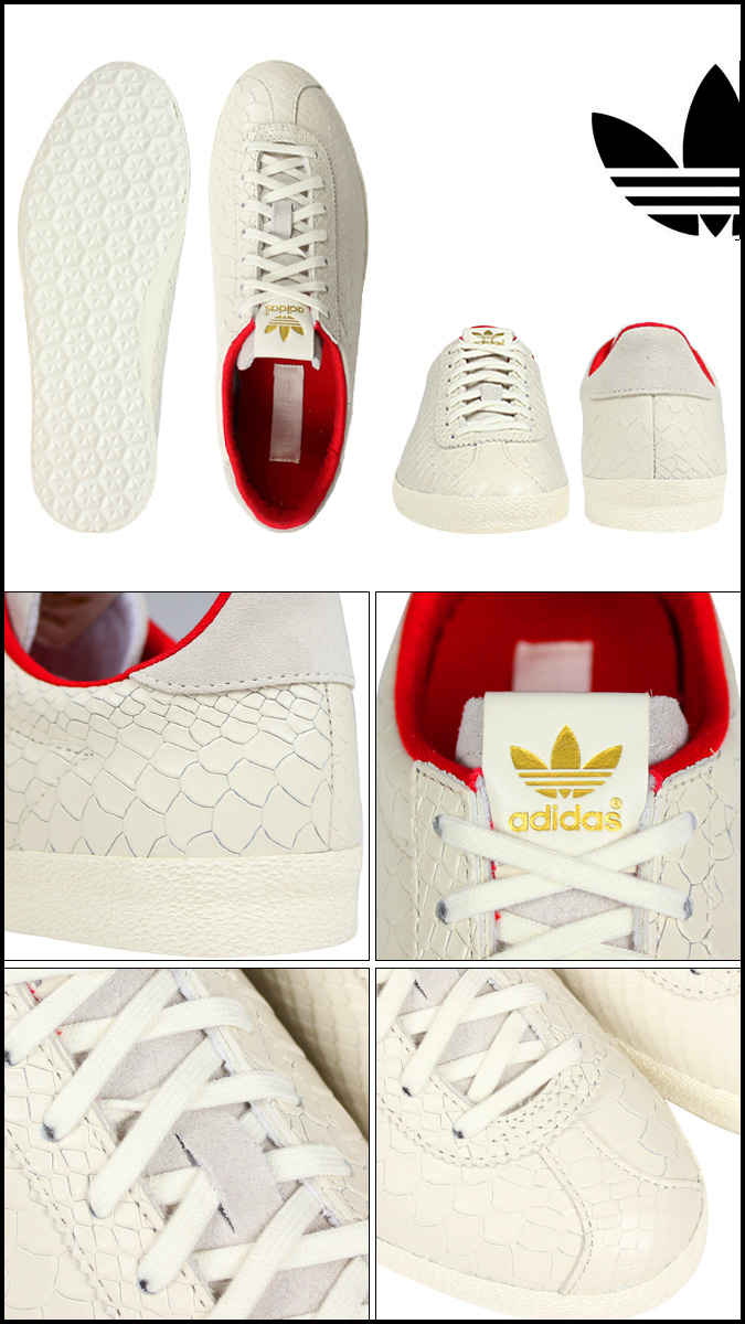 clearance sale purchase cheap incredible prices adidas Originals Adidas originals gut race knee car Lady's GAZELLE OG  DRAGON W D65898 men shoes white