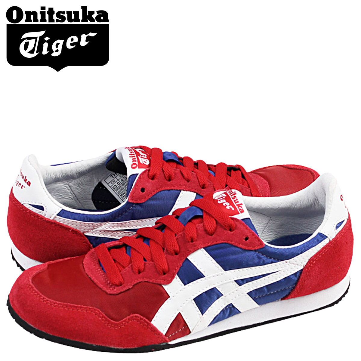 64f96d3e8dd1  SOLD OUT  ONITSUKA Tiger ASICs Onitsuka Tiger asics women s SERRANO  sneakers Serrano suede   nylon 2014 new TH 109L-2201 red suede  regular