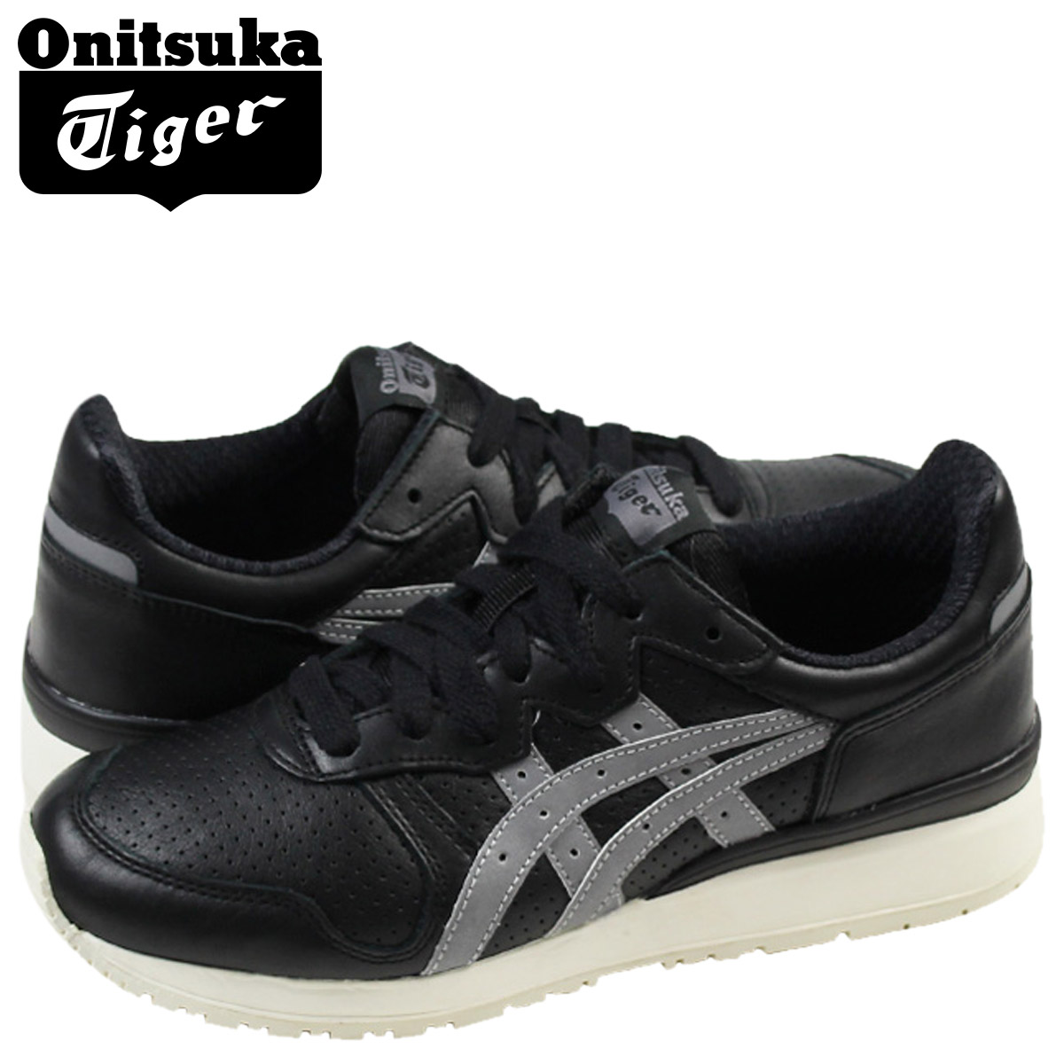 newest c6ab3 8a41b Point 2 x ONITSUKA Tiger ASICs Onitsuka Tiger asics women's TIGER ALLIANCE  sneakers Tiger Alliance leather black TH4B 3L-9090 [5 / 13 new in stock] ...