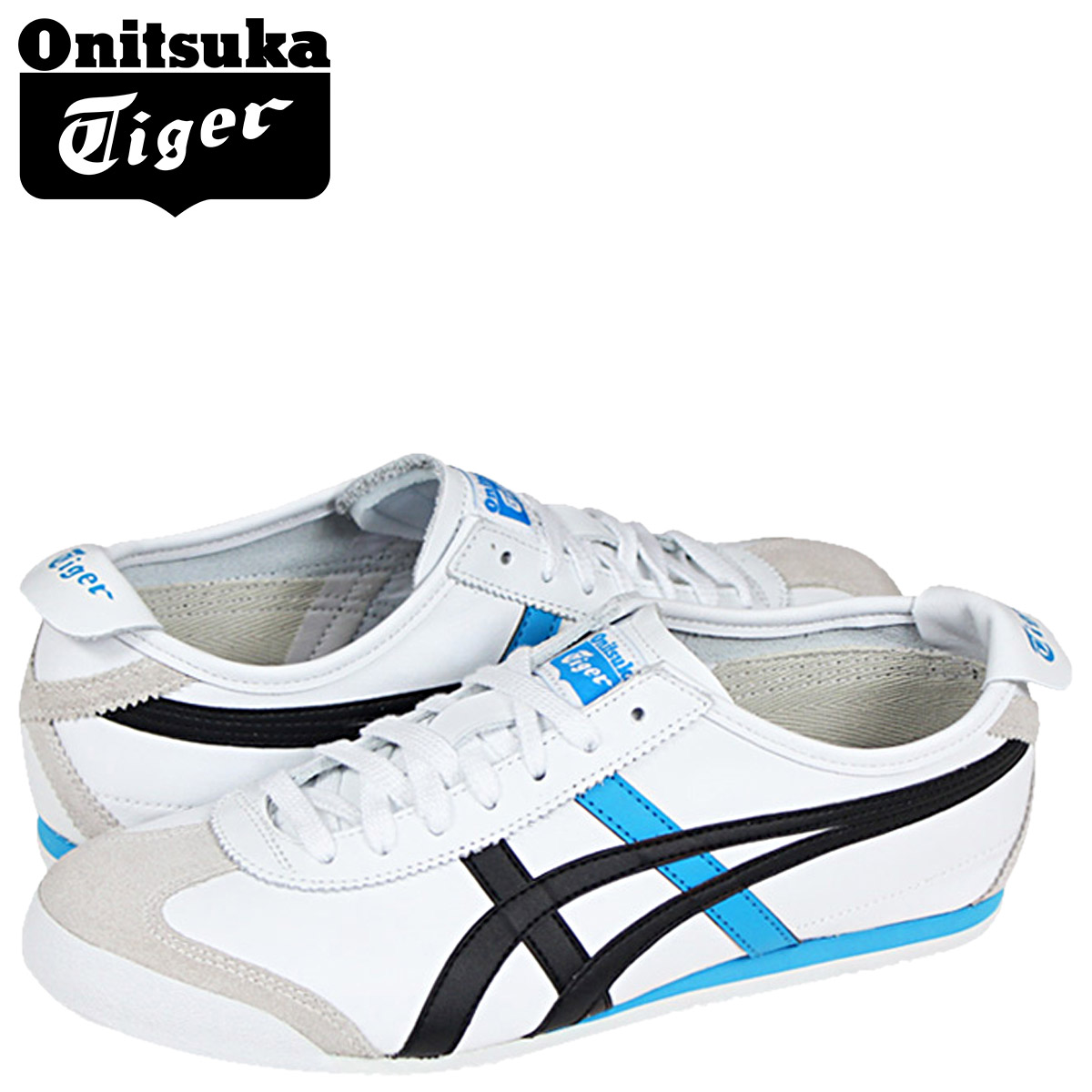 wholesale dealer ba68f 8b733 Point 2 x Womens MEXICO 66 sneakers, ONITSUKA Tiger ASICs Onitsuka Tiger  asics Mexico 66 suede × leather white THL7C2-0152 [5 / 13 new in stock] ...