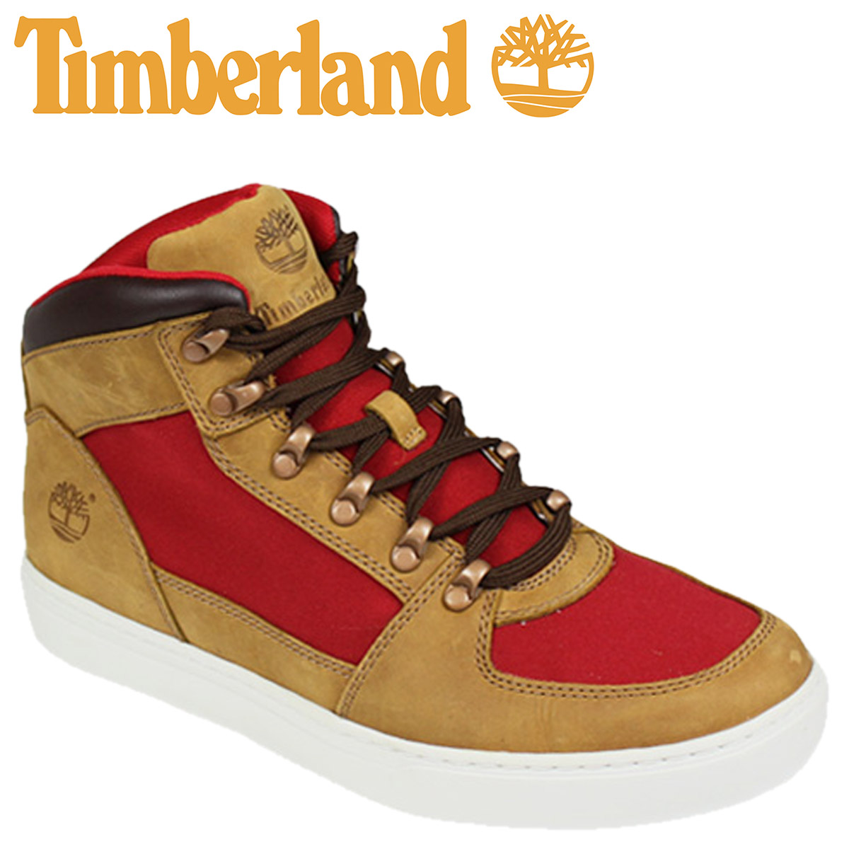 [SOLD OUT] Timberland Timberland Earthkeepers Newmarket 2.0 Cup hiker [Tan Red] EARTHKEEPERS NEW MARKET 2.0 CUP HIKER nubuck canvas men's 6862R [regular]