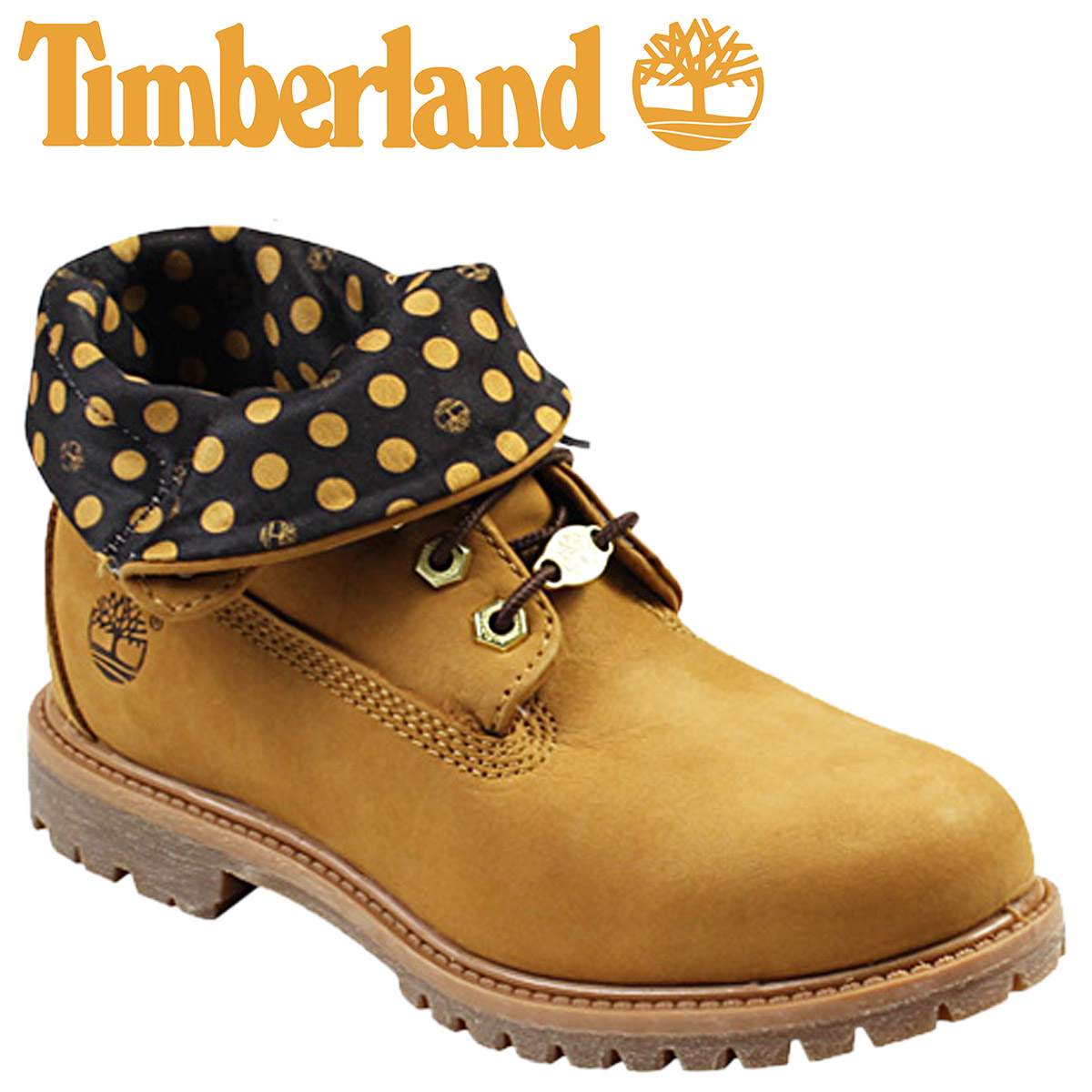 c5e567fb139 [SOLD OUT] Timberland Timberland Lady's kids authentic roll top [ウィートブラウン]  AF ...