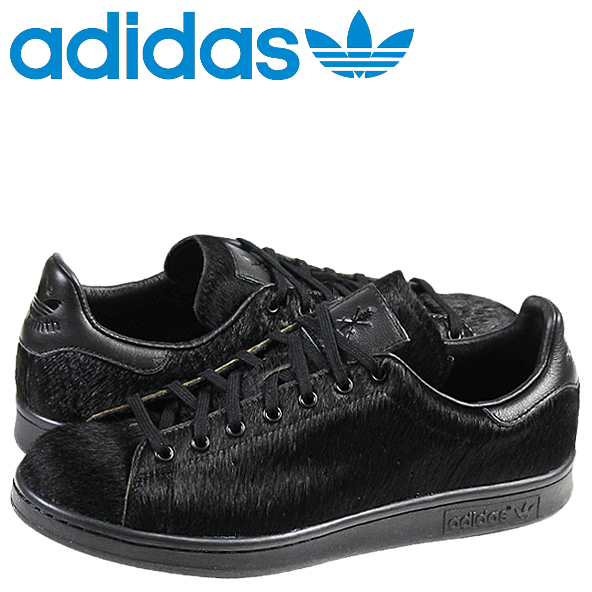Adidas originals adidas Originals×OPENING CEREMONY STAN SMITH sneakers Stan Smith Huracan men's women's collaboration with B35645 black unisex [11