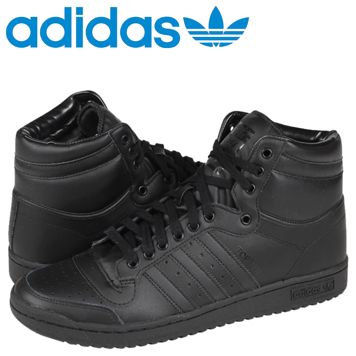 great quality retail prices crazy price adidas Originals Adidas original stop ten high sneakers TOP TEN HI C75323  men shoes black
