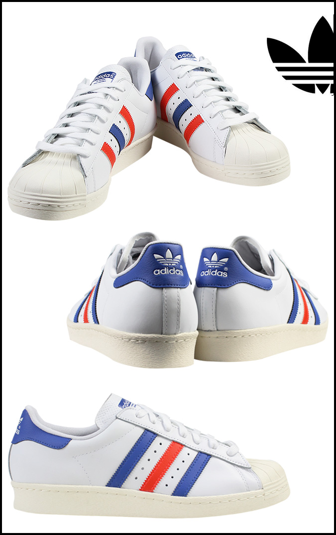 adidas blue superstar '80s sneaker