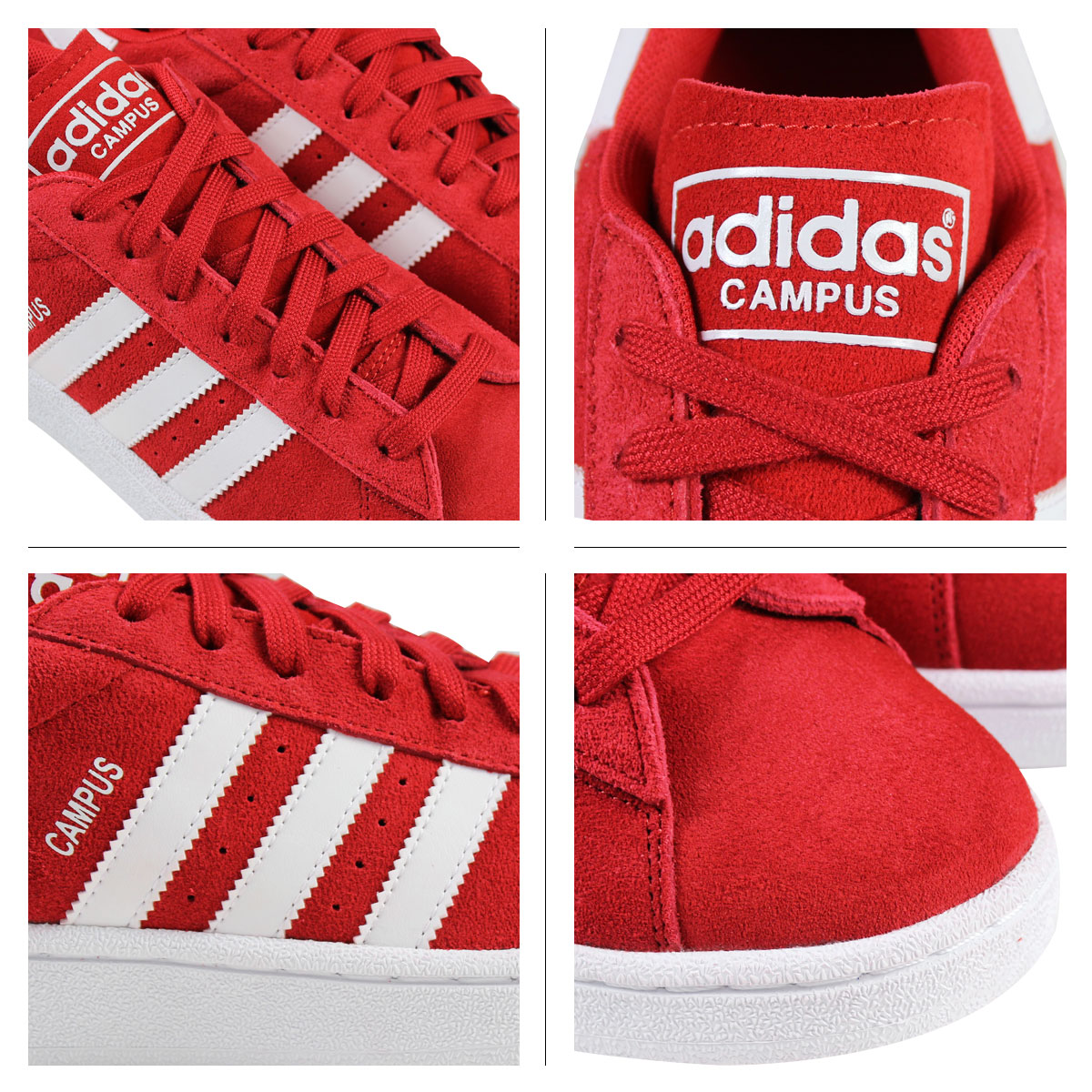 Adidas originals adidas Originals mens CAMPUS sneakers campus S85907 Scarlett [7/31 new in stock]