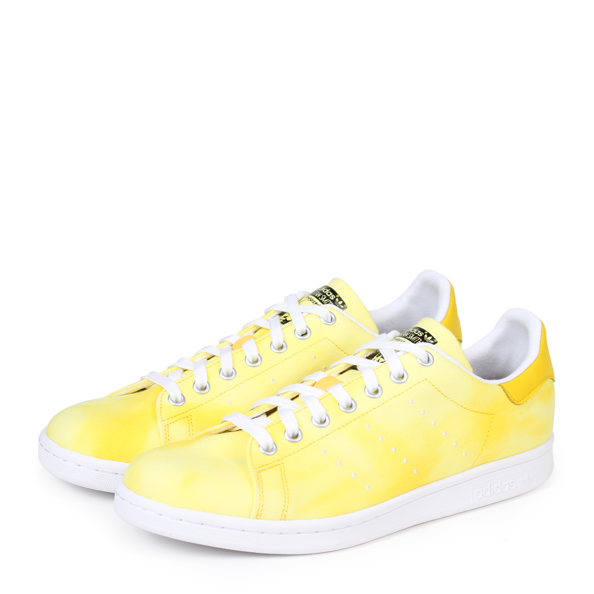 6f85605aeb4f6 ALLSPORTS  adidas Originals PW HU HOLI STAN SMITH Adidas Stan Smith sneakers  Farrell Williams men collaboration AC7042 yellow originals  load planned ...