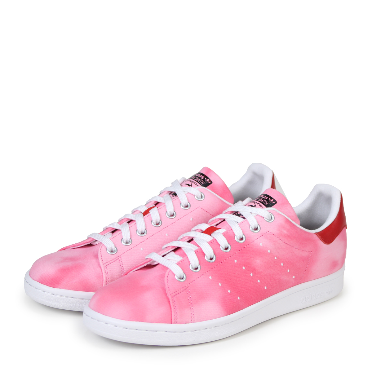 in stock a667a d4031 adidas Originals PW HU HOLI STAN SMITH Adidas Stan Smith sneakers Farrell  Williams men collaboration AC7044 red originals [3/20 Shinnyu load] [183]