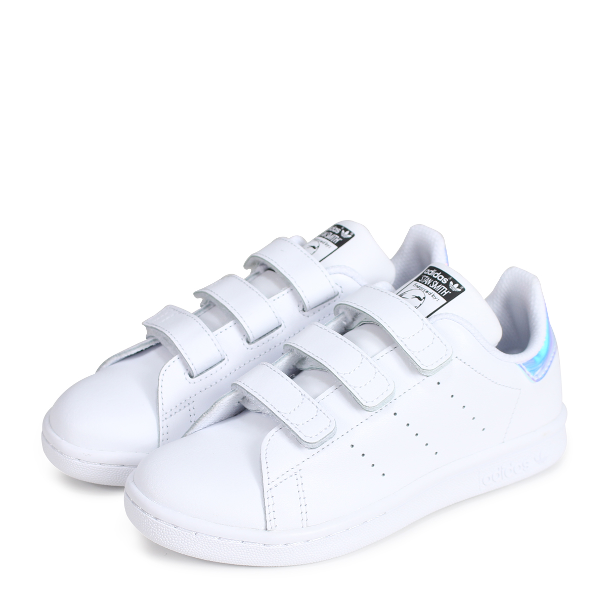 9e5b0c5a029030 adidas Originals STAN SMITH CF C Adidas originals Stan Smith kids sneakers  AQ6273 white  load planned Shinnyu load in reservation product 7 7  containing  ...
