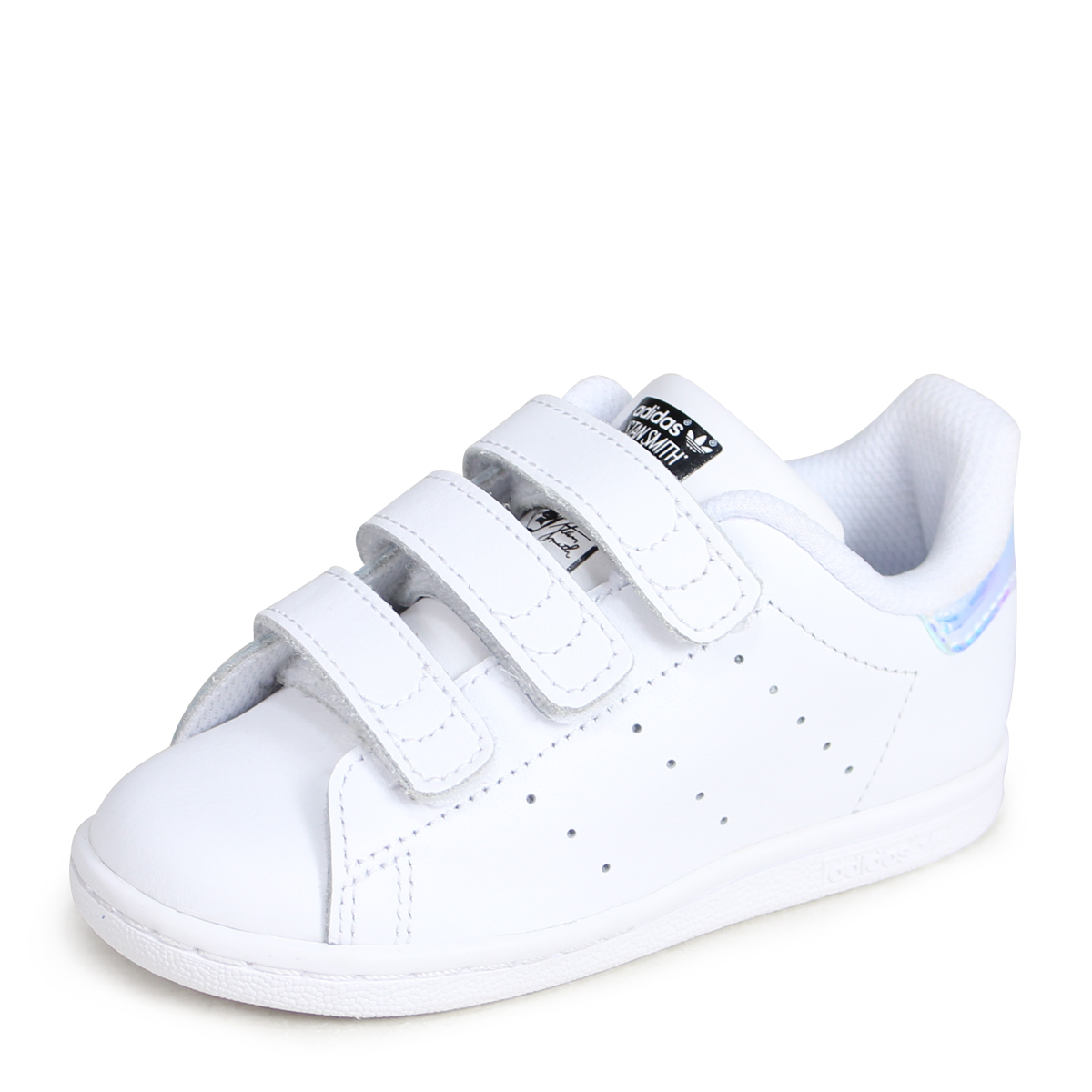 release date: 2310e a813c adidas Originals STAN SMITH CF I Adidas originals Stan Smith baby sneakers  AQ6274 white  load planned Shinnyu load in reservation product 7 7  containing  ...
