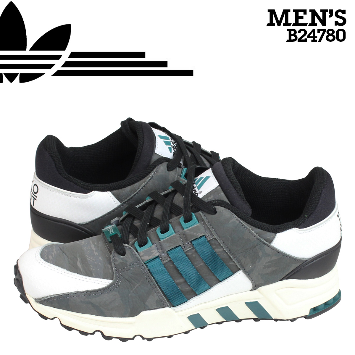 sneakers for cheap 45b41 1e7c4 Adidas originals adidas Originals mens EQT RUNNING SUPPORT 93 sneakers  equipment running support B24780 green grey [10/16 new in stock]
